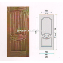 high quality natural teak veneer MDF/HDF door skin