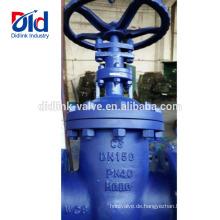 8 Gusseisenhersteller Rising Stem Sluice 1 Hydrant 18 Din Kohlenstoffstahl-Absperrventilflansch