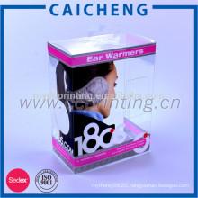 Manufacture clear hard souvenir gift plastic box