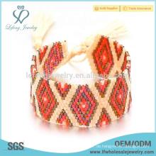 Günstige anfängliche Schmuck Armband, diy Samen Perlen Armband Schmuck