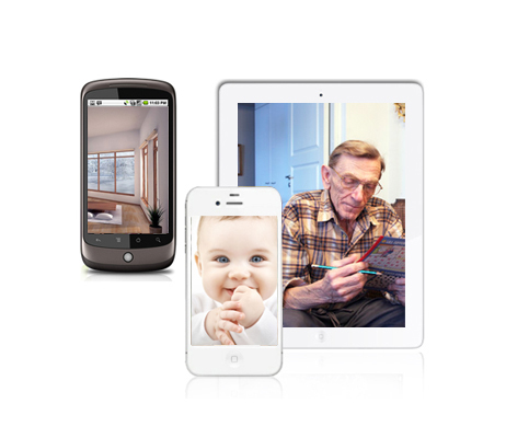 mobile view ip camera