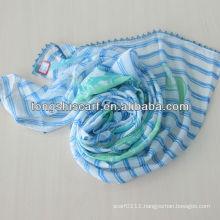 2013 fashion pom pom scarf