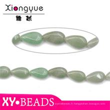 Plus récent gros Agate Turquoise naturelle Pierre pendentif perles