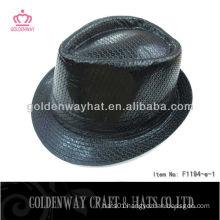Black Fashion Sequin Fedora Hat