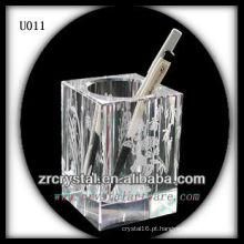 Suporte de caneta de cristal quadrado K9