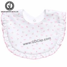 OEM Custom Flower Girlish Style Pattern Baby Bibs for Girls