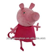 Fábrica al por mayor de animales en forma de mochila mochila mochila de cerdo