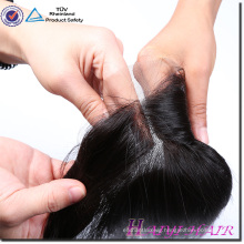 Factory wholesale price 100% virgin Brazilian human hair lace closure