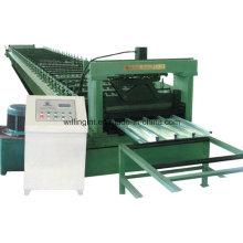 Máquina formadora de rollos de piso de acero con CE
