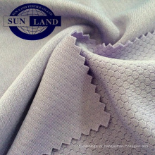 Tecido de favo de mel 100 tecido de poliéster de microfibra para sportswear