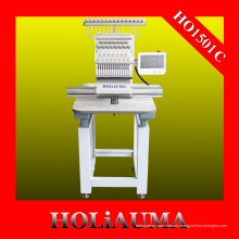 Nuevo Jefe único computarizado bordado máquina casquillo / camiseta bordado máquina