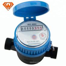 Metro rotatorio del agua del dial de la paleta rotatoria