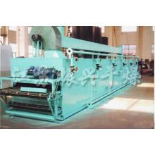 Dw модель однослойный сетчатый ленточный сушильный аппарат