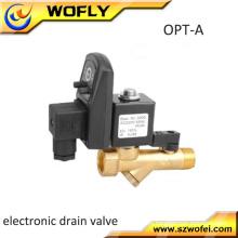 Válvula de drenagem de umidade eletrônica automática temporizada do tanque de ar para compressor