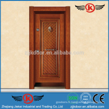 JK-AT9011 Portes en fer forgé et en verre / Portes métalliques extérieures / Portes de salle