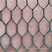 De bonne qualité Galvanisé / PVC Revêtue Gabion Box Wire Mesh (Factory)