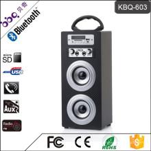 BBQ KBQ-603 10W 1200mAh ROHS Musique Mini Haut-Parleur Bluetooth