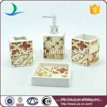 Bandejas de sabão de cozinha de cerâmica quadrada vintage
