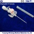 Cápsula IV Desechable Médica Desechable / Cateter IV Tipo de ala 20g