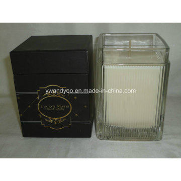 Bougie parfumée en cire de soja