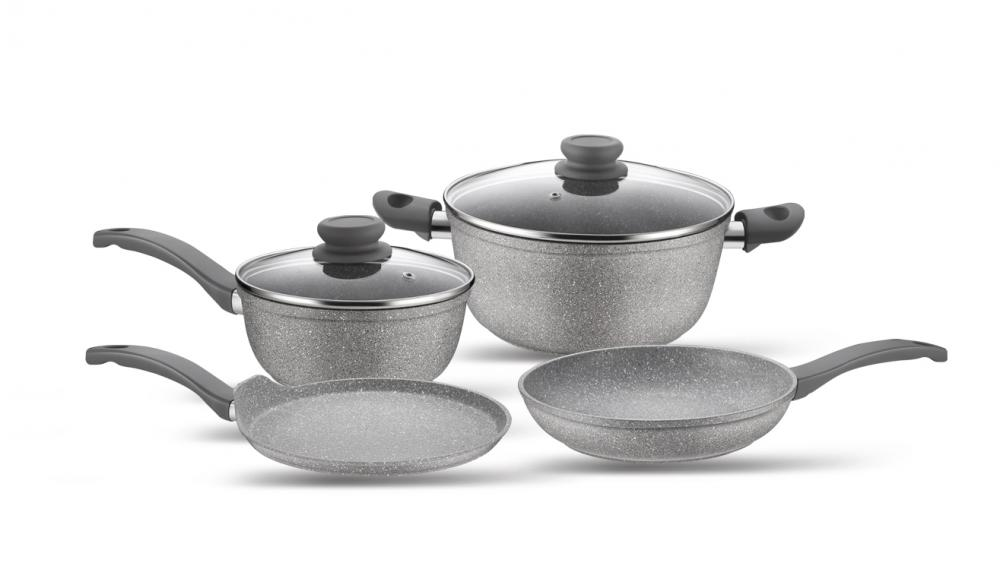 Forged Aluminum Cookware Set