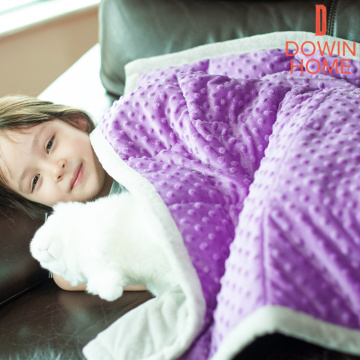 Sherpa Weighted Lap Blanket para niños