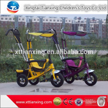 New 4/1 push car Child tricycle / three wheels kid Tricycle / Baby tricycle with sunshade roof /tricycle for sale in philippines
