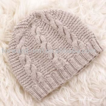 WOOL WINTER KNITTED HAT