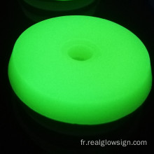 Realglow Disque Photoluminescent Jaune Vert