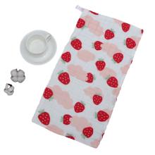 Toalla de cara de algodón suave con diseño de patrón de bebé para niños