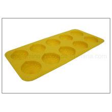Zitronenförmiges Silikon-Eiswürfel-Tablett (RS19)
