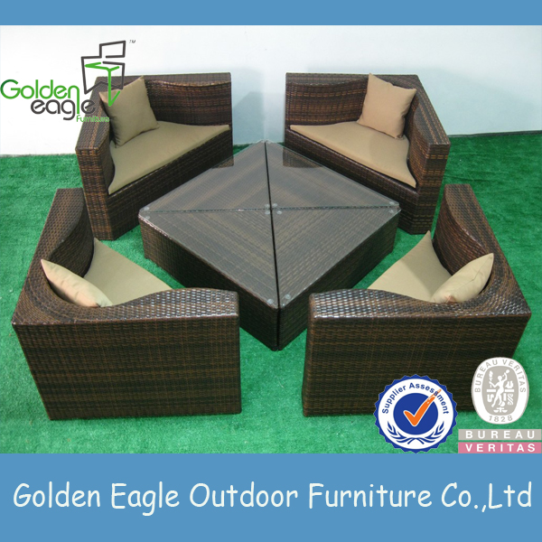 wicker outdoor furniture adjustable feet