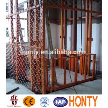 дешевый портативный гидравлический вертикальный грузовой лифт