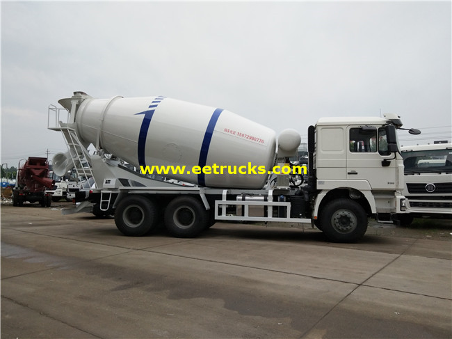 Cement Mixing Trucks