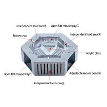 Outdoor Rodent  Humane Electric  Mouse Trap