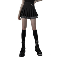PUNKRAVE daily Plus size mini skirt OPQ-791BQF Wholesale With Picture New Fashion Gothic Party Skirts pleated short skirt