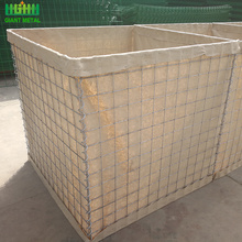 Factory price military sand wall hesco barriers sale