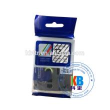 Ruban Tz-231 laminé laminé cassette Tz-231 noir sur blanc