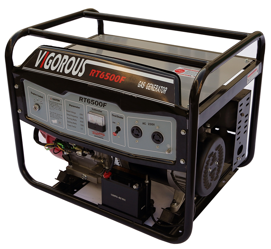 10 KW Gas Powered Generator