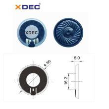 passive waterproof 8ohm 0.5w 36mm mylar speaker