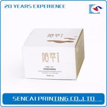 Caja de papel cosmética del maquillaje de la crema del maquillaje de Sencai