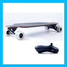 Whie Wheel Cruise Control Wireless Elektrische Skateboard