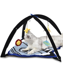Cheap Cute Hanging Star Month Activity Center Cat Bed Play Tent