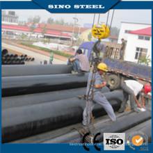 Schwarz ASTM A106 Gr. B Sch40 Nahtloses Stahlrohr