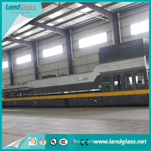 Landglass Building Glass Forced Convection Toughened Glass Making Machine