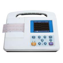 Electrocardiógrafo monocanal portable