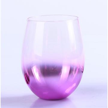 Ombre Metallic Purple Wine Glass Groothandel