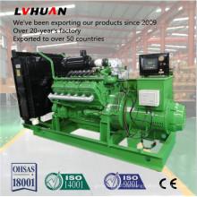 50Hz / 60Hz AC trifásico de carvão cama gerador de gás conjunto