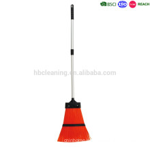 extendable plastic sweeping garden brooms