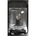 Lampe de table en verre gris
